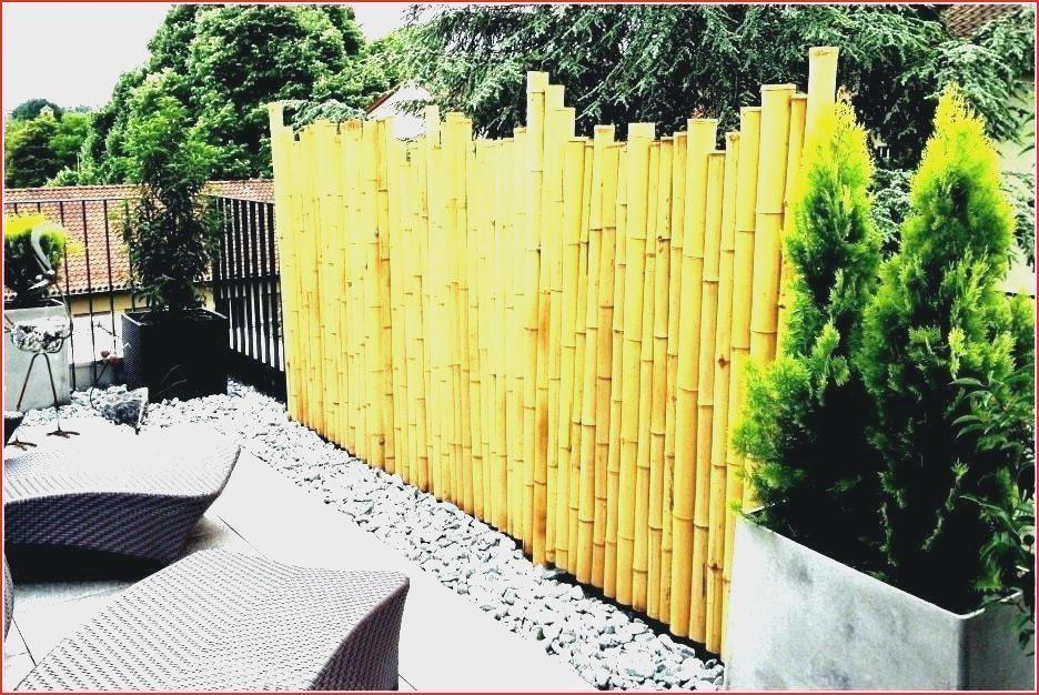 Bambus Sichtschutz Garten Obi