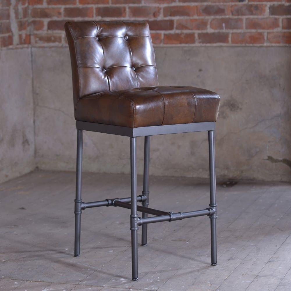 Barhocker Leder Vintage