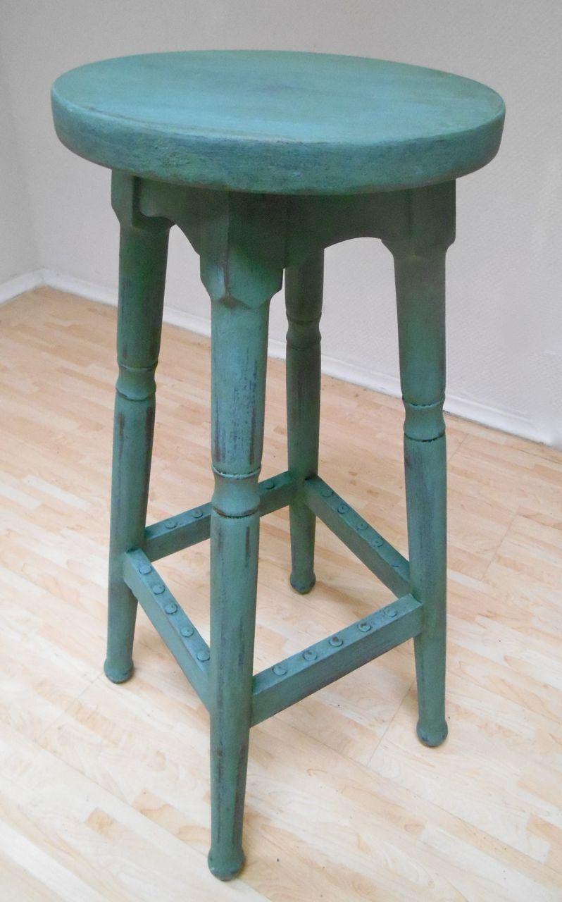 Barhocker Vintage Grün
