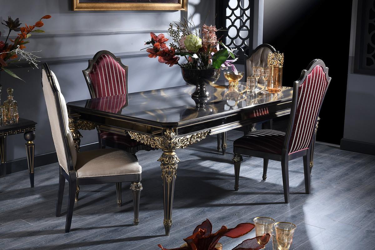 Barock Esstisch Set