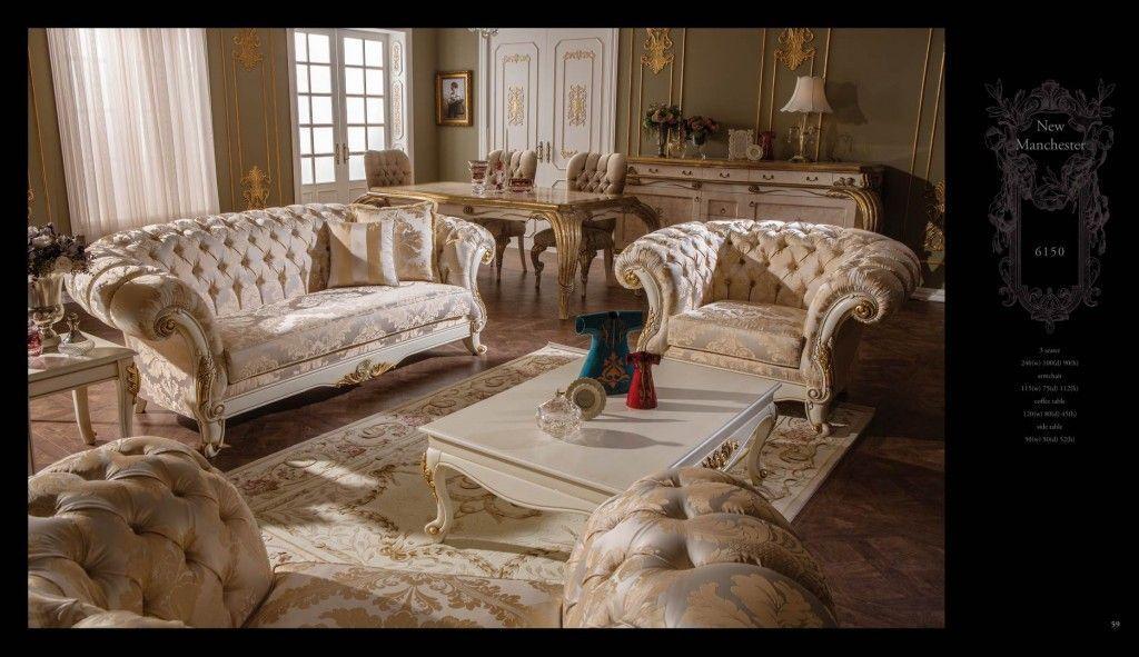 Barock Italienische Möbel Esszimmer