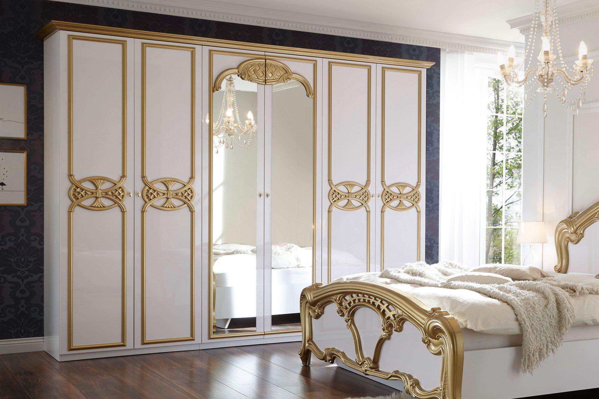 Barock Schlafzimmer Gold