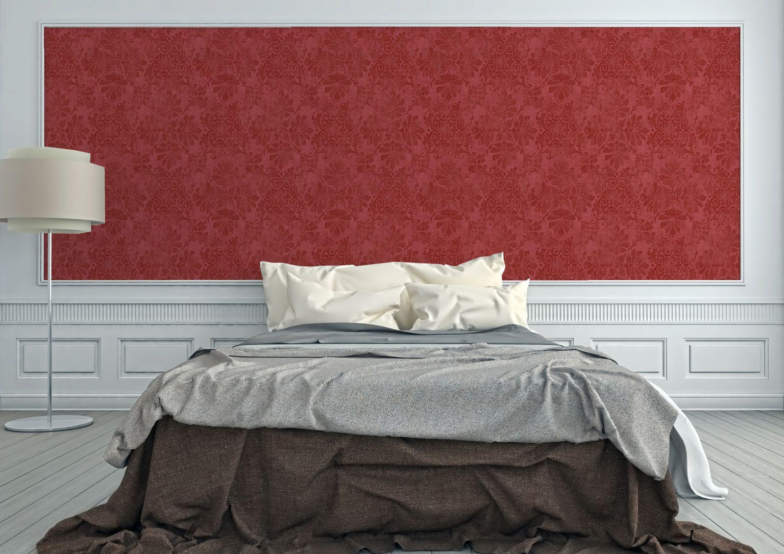 Barock Schlafzimmer Rot