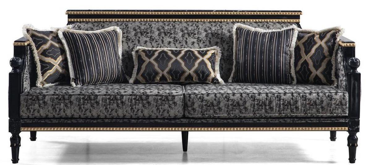 Barock Sofa Grau
