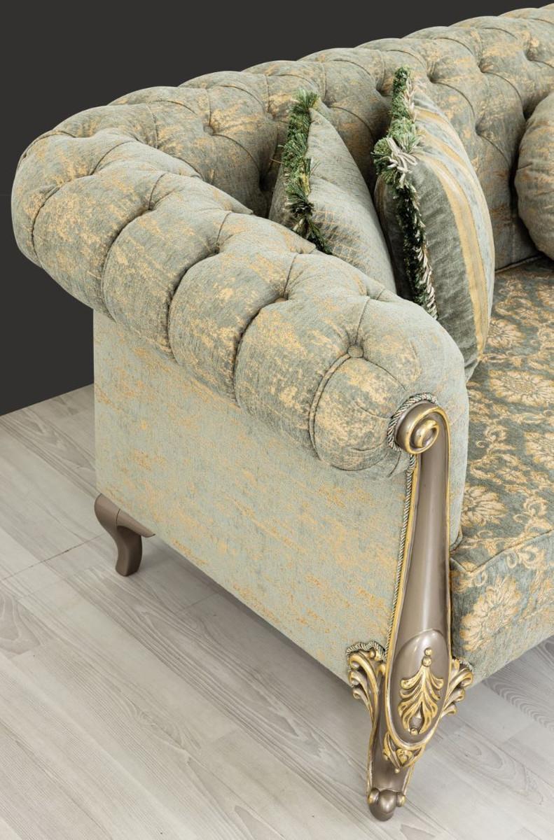 Barock Sofa Grün