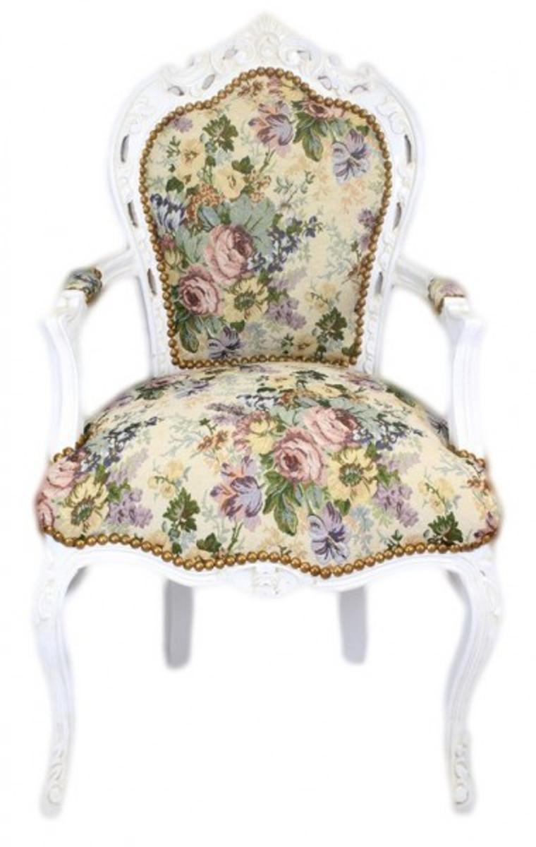 Barock Stühle Weiß