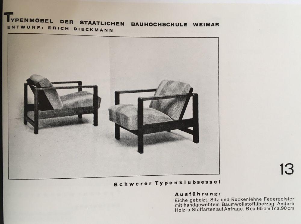 Bauhaus Möbel 1920
