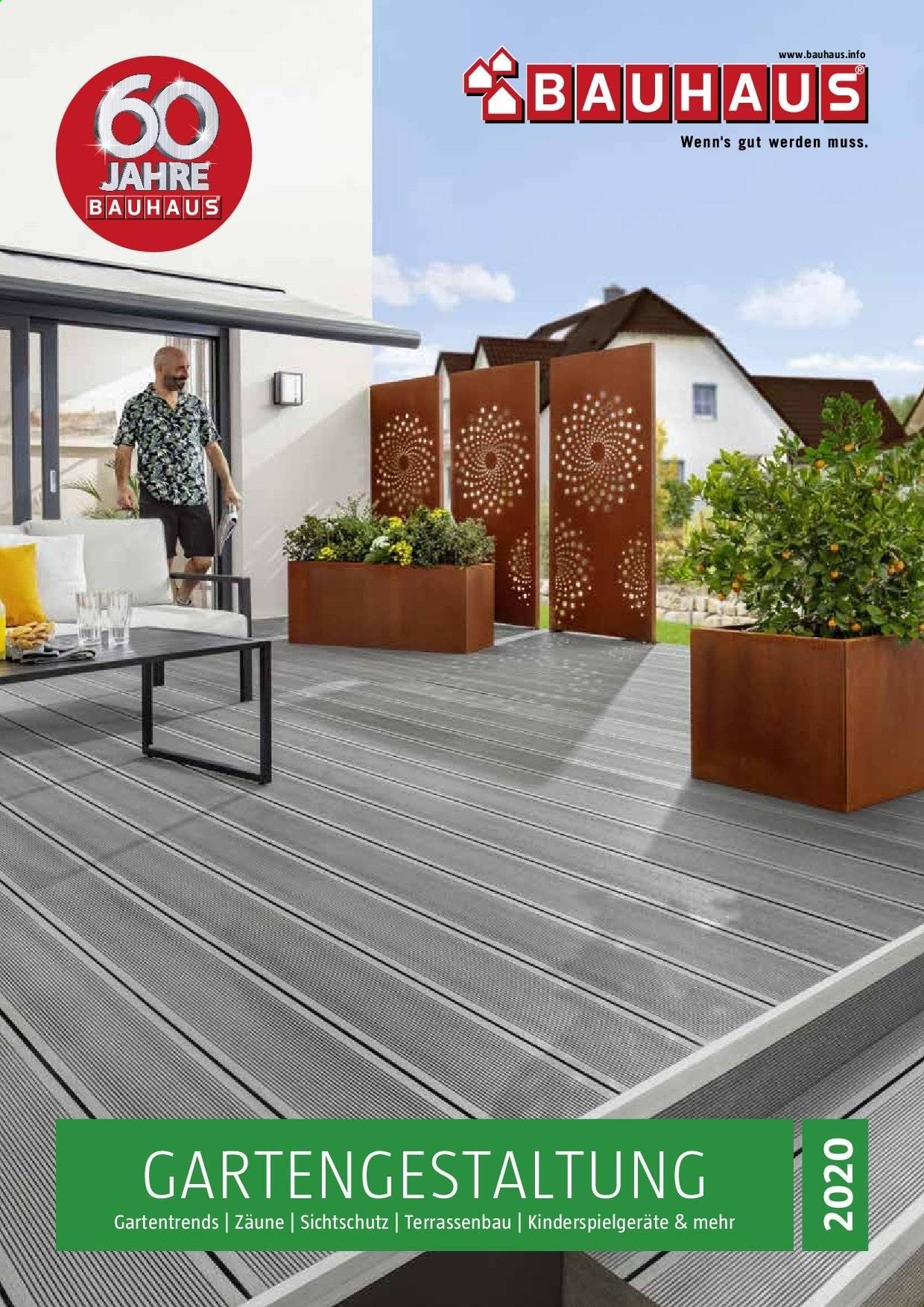 Bauhaus Sichtschutzzaun Holz