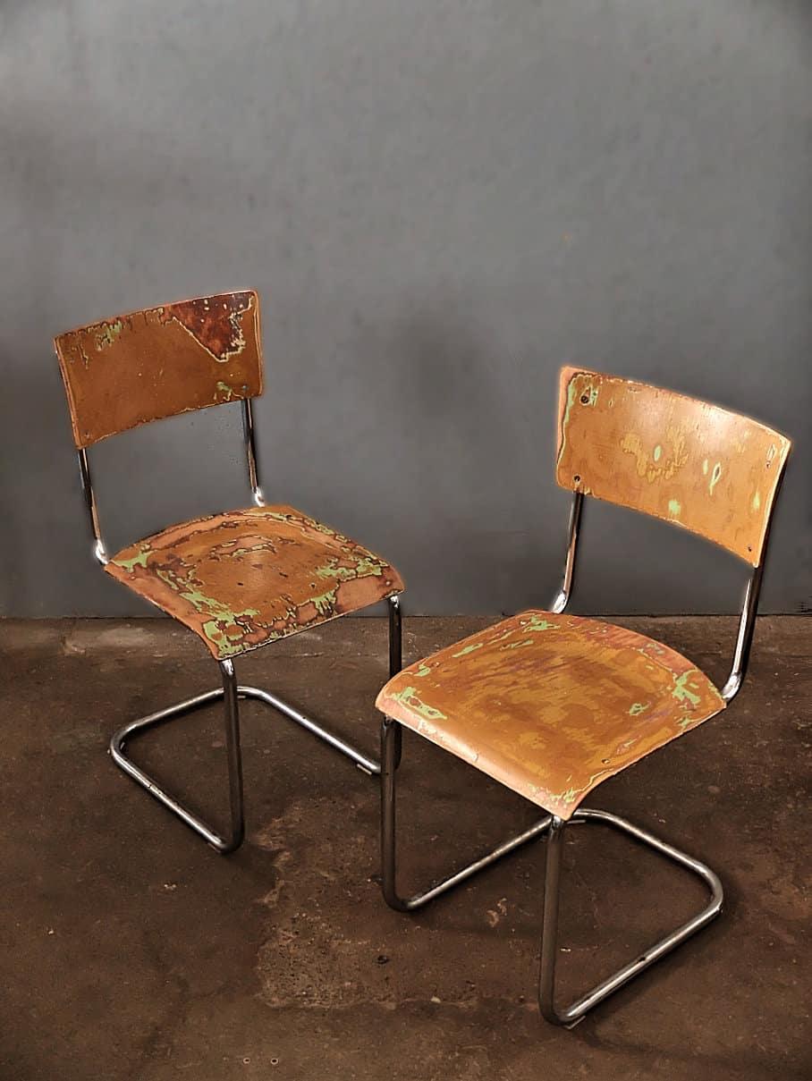Bauhaus Stil Stuhl