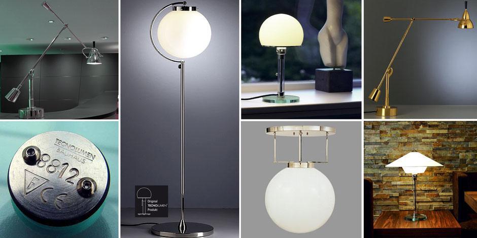 Bauhaus Wagenfeld Leuchte