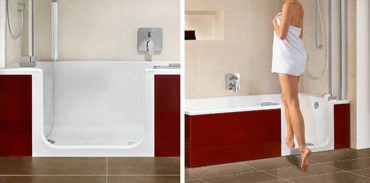 Begehbare Badewanne Mit Dusche Artweger
