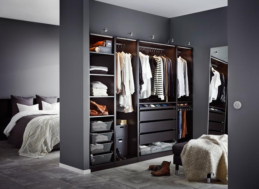 Begehbarer Kleiderschrank Dachschräge Ikea