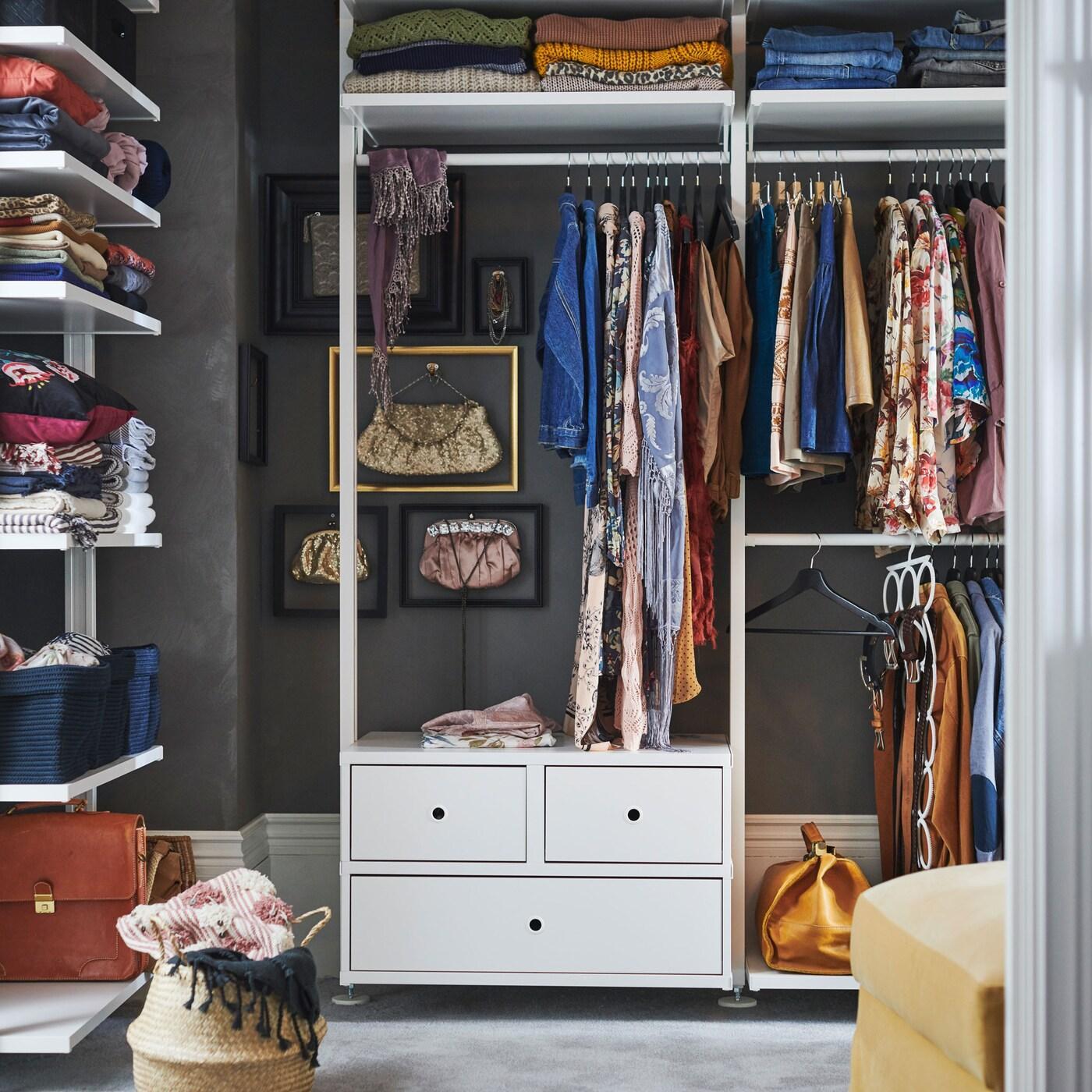 Begehbarer Kleiderschrank Kinderzimmer Ikea