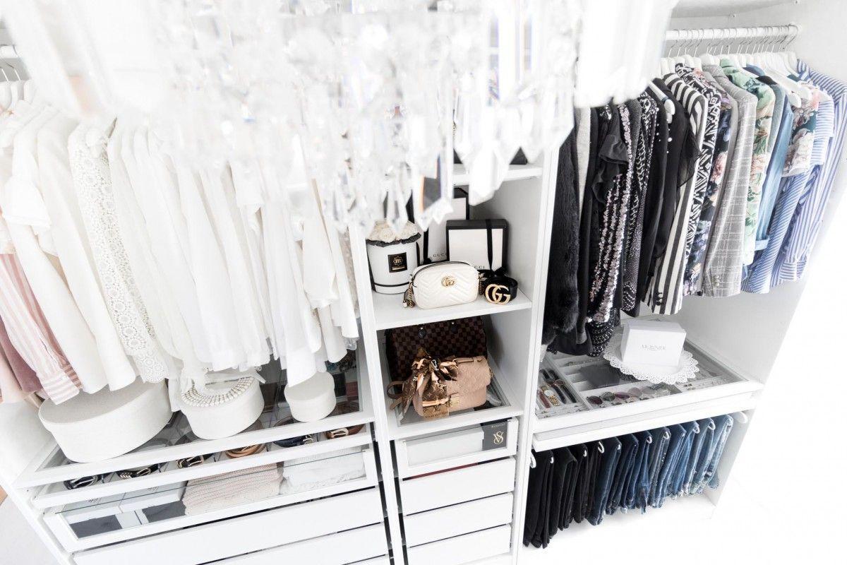 Begehbarer Kleiderschrank Pinterest