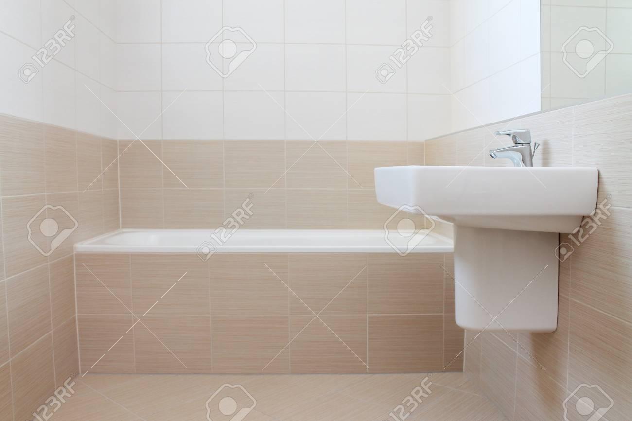 Beige Badezimmer Fliesen