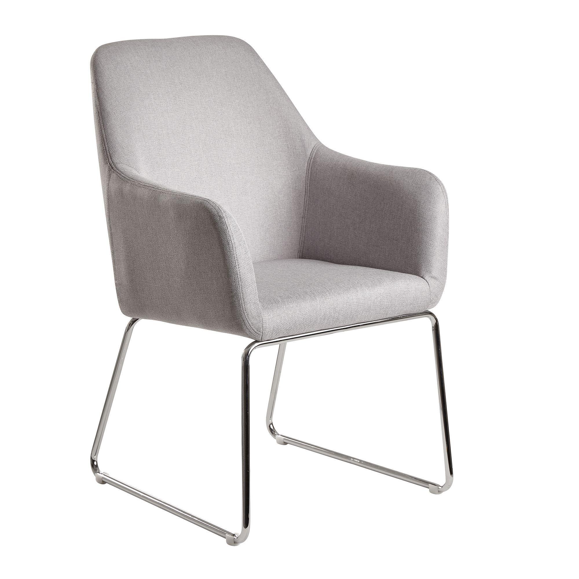 Beige Stühle Mit Silbernen Beinen