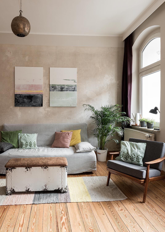 Beige Wohnzimmer Wandfarbe Ideen