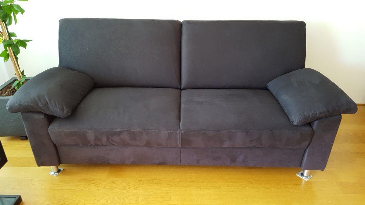 Beistelltisch Couch Schwarz