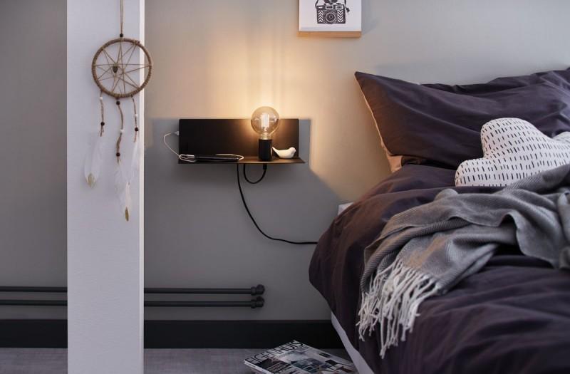 Bett Hängelampe Schlafzimmer