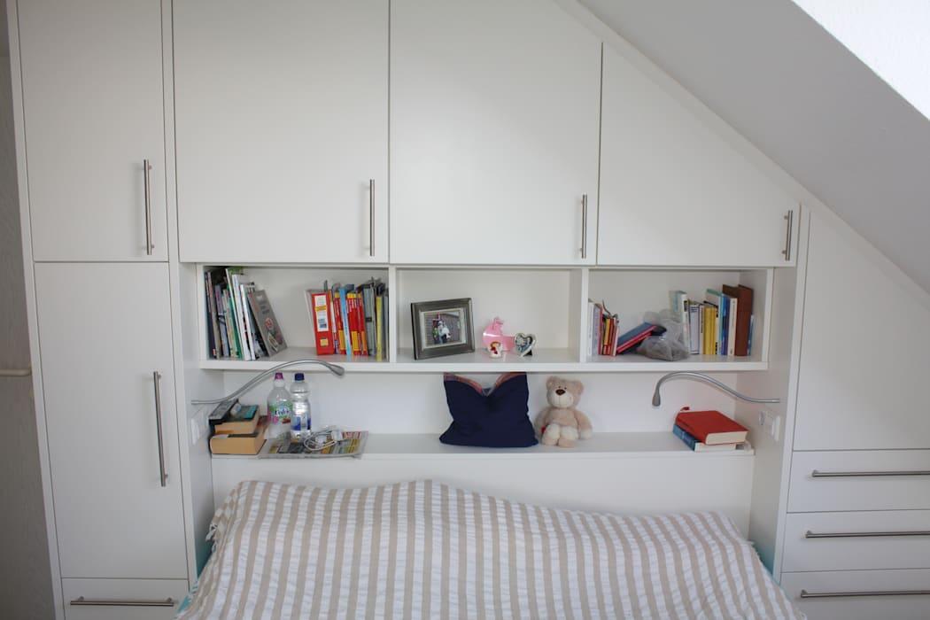 Bett Mit überbau Schrank