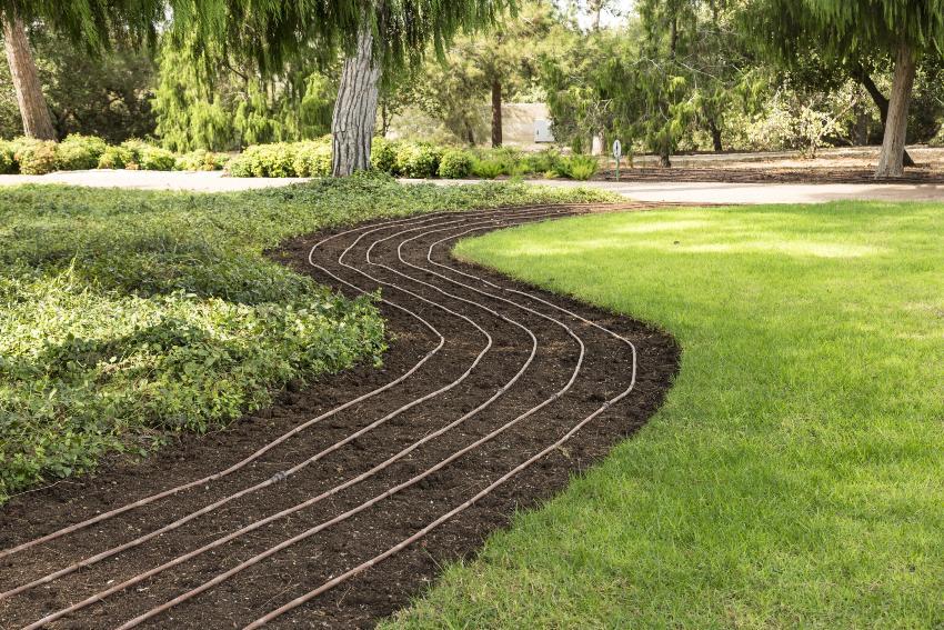 Bewässerungssystem Garten Unterirdisch