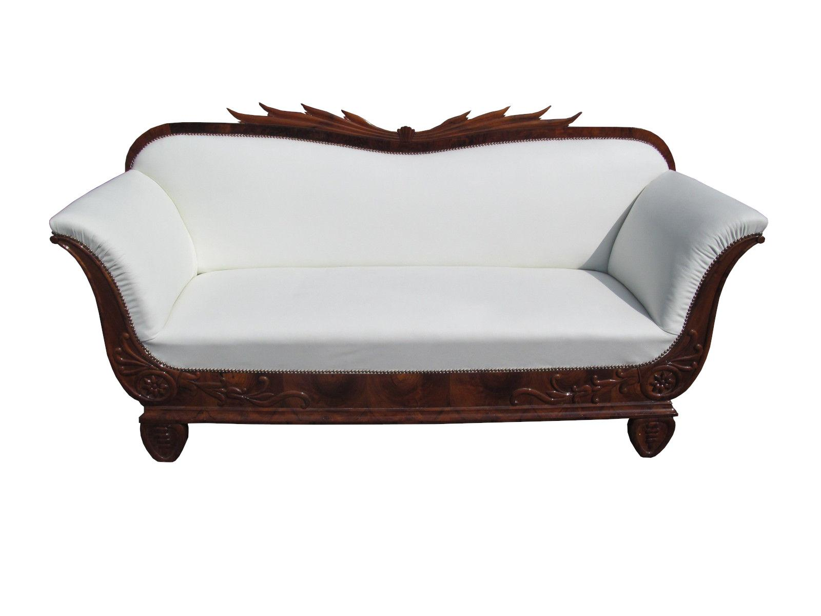 Biedermeier Sofa Original