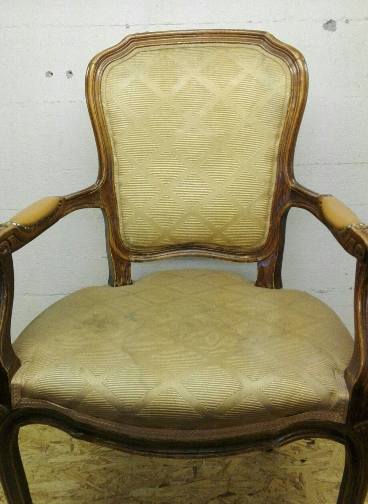 Biedermeier Stuhl Mit Armlehne