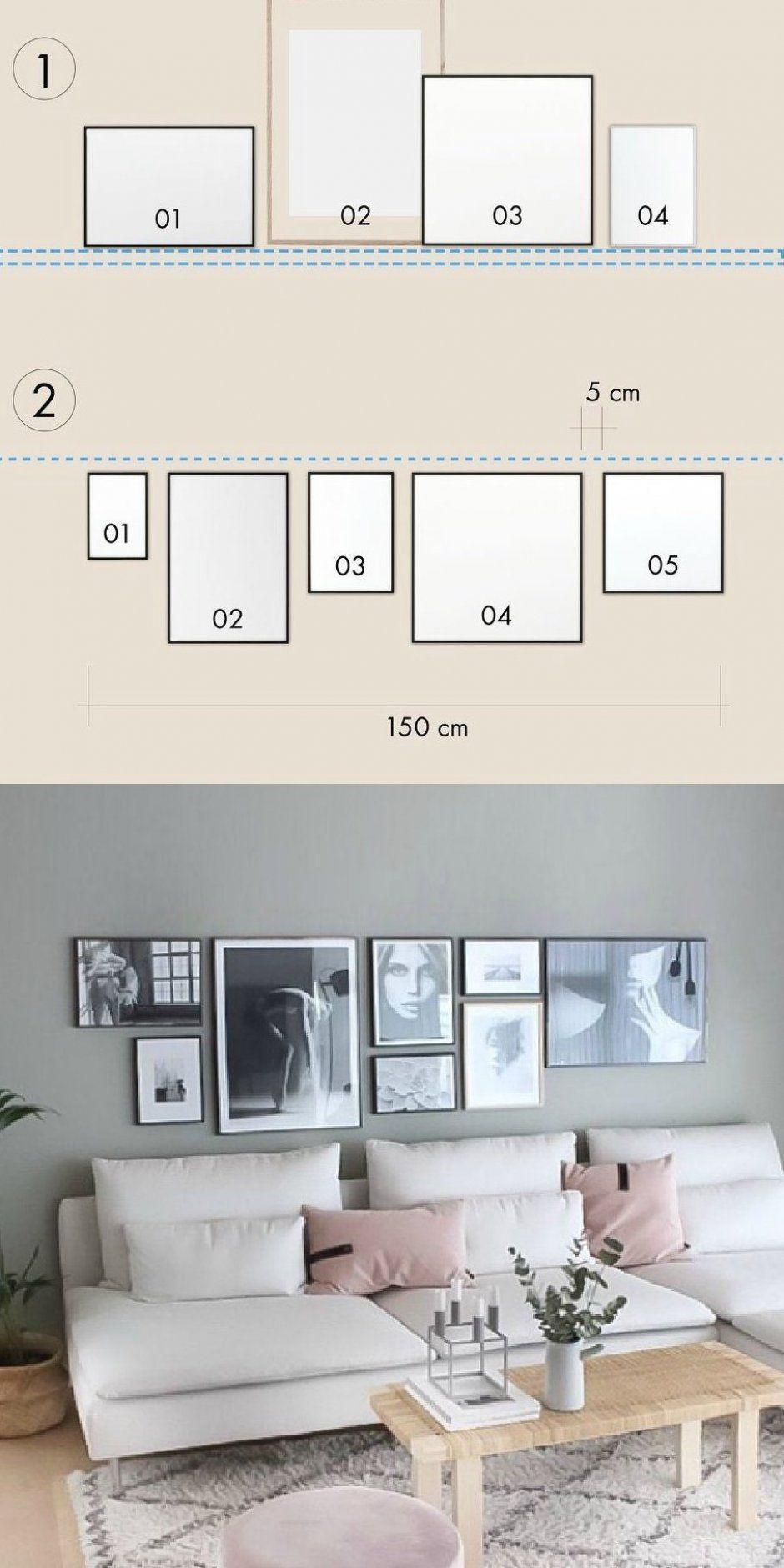 Bilderwand Wohnzimmer Pinterest