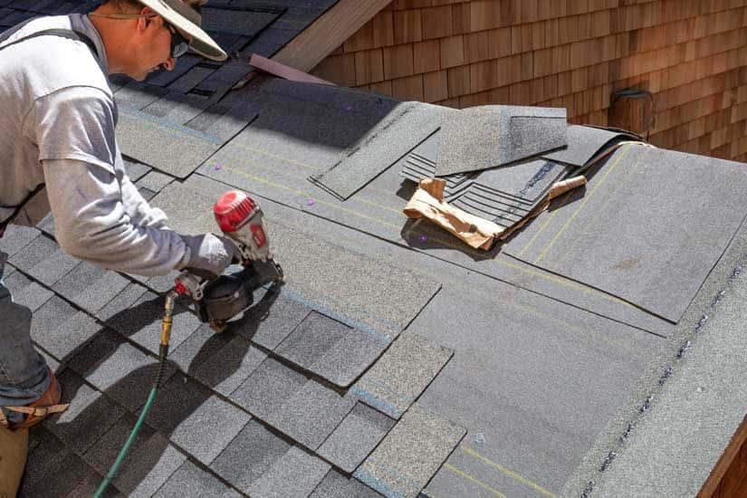 Bitumen Dach Gartenhaus