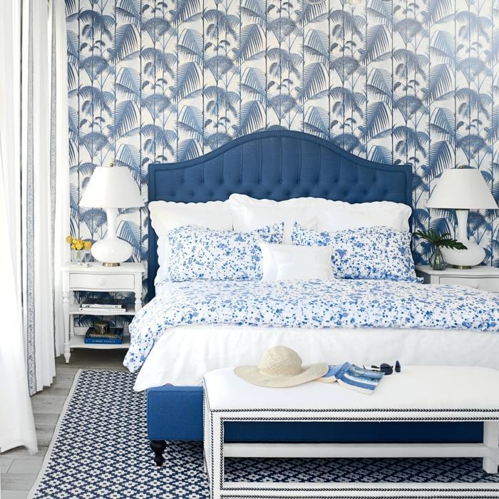 Blaues Schlafzimmer Einrichten