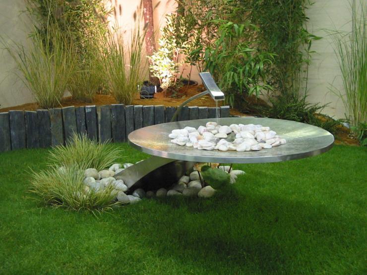 Brunnen Garten Modern