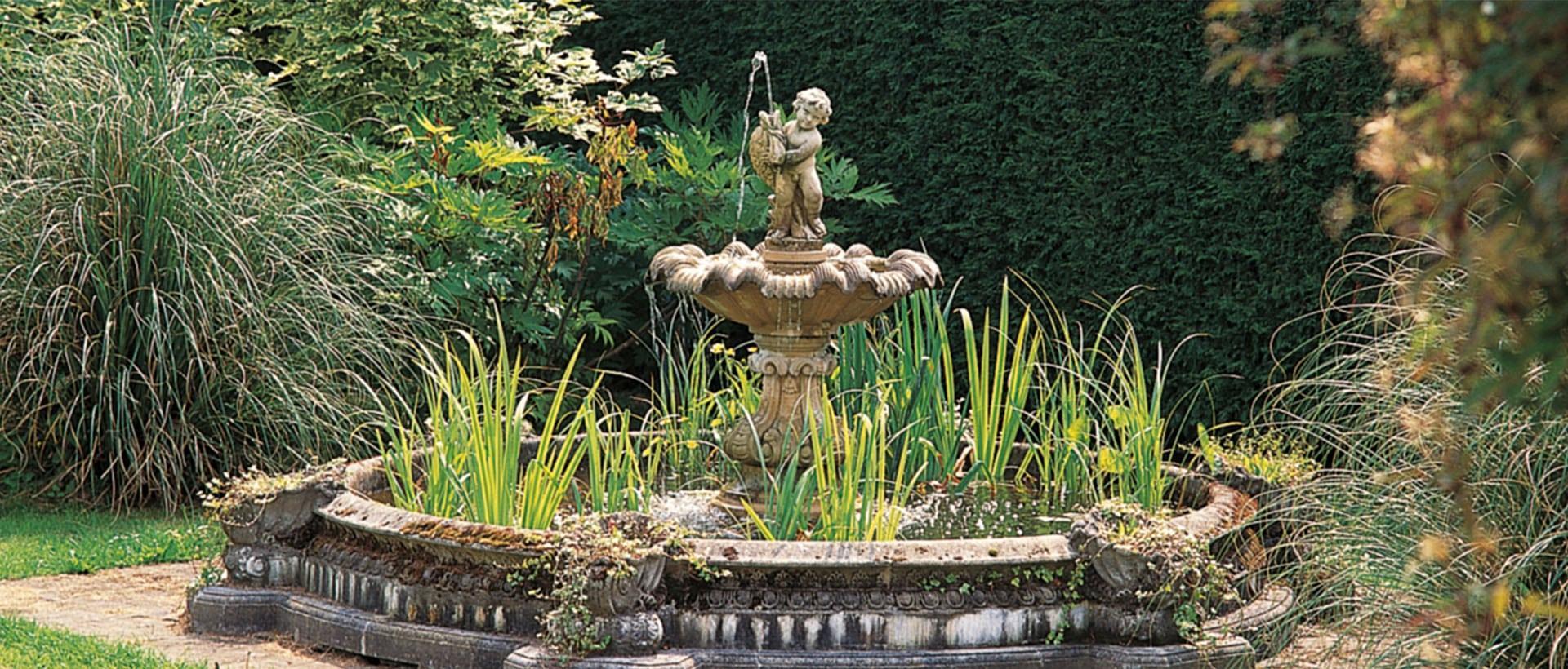 Brunnen Im Garten Selber Bauen