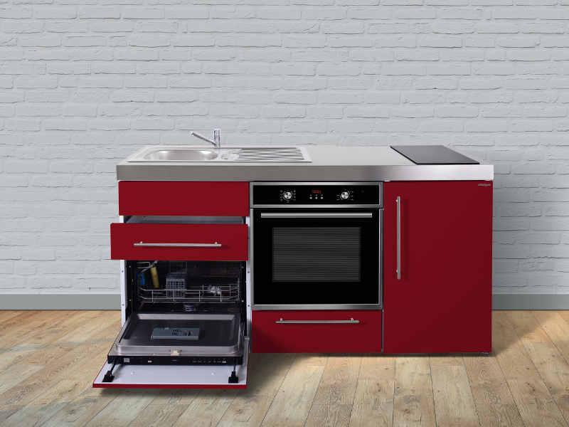 Büroküche Mit Geschirrspüler Und Kühlschrank