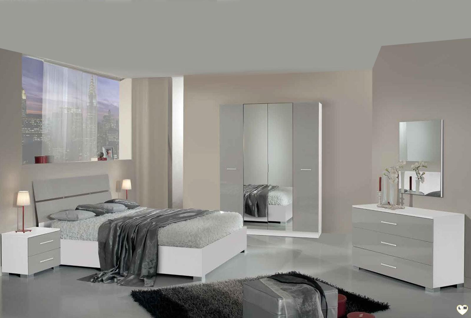 Chambre A Coucher Moderne Blanc