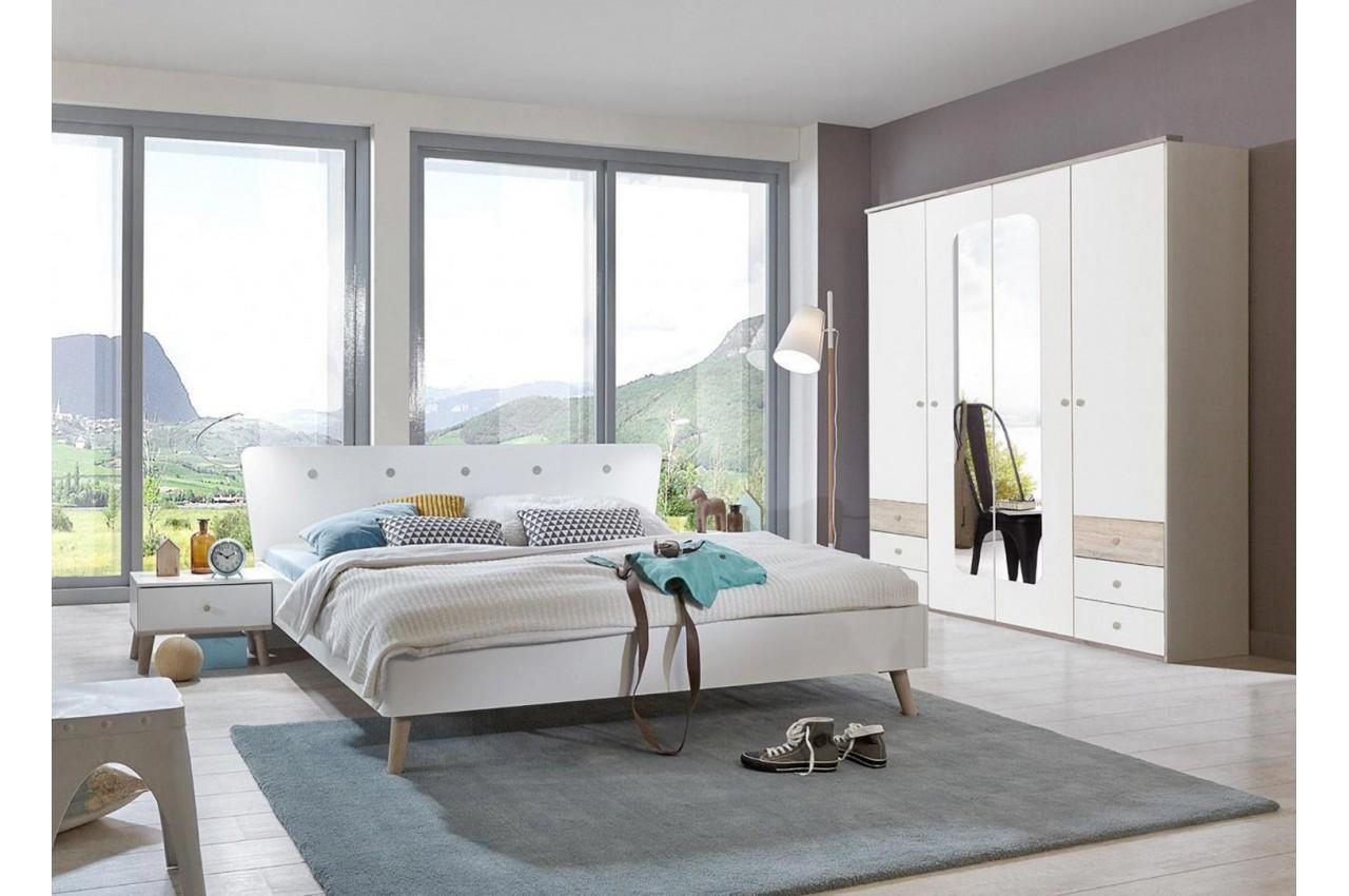 Chambre à Coucher Moderne Blanche