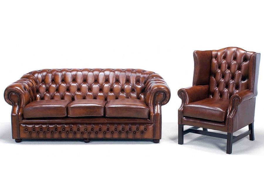 Chesterfield Sessel Wohnzimmer
