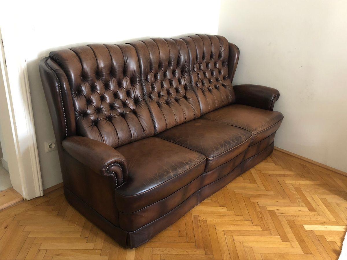 Chesterfield Sofa Leder Gebraucht