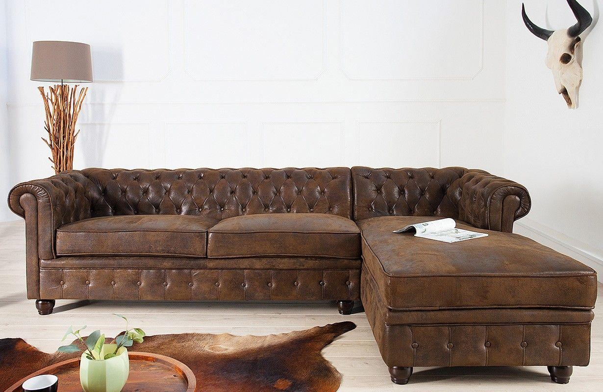 Chesterfield Sofa Microfaser