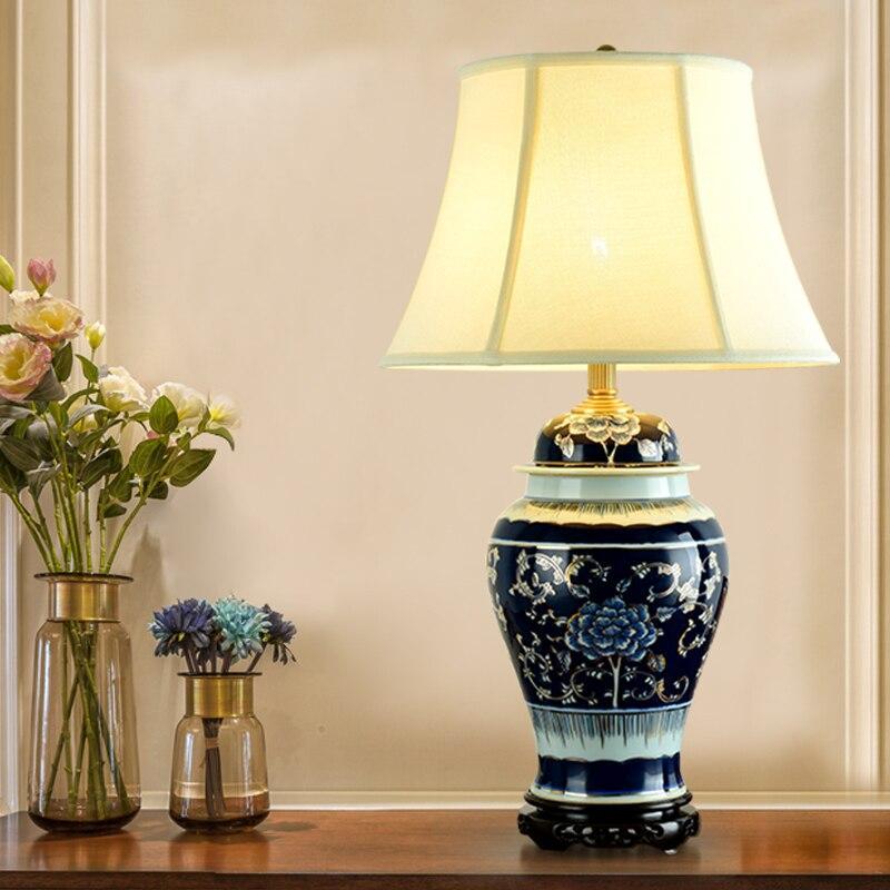 Chinesische Porzellan Lampe