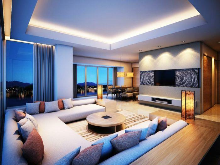 Coole Beleuchtungsideen Beleuchtung Wohnzimmer