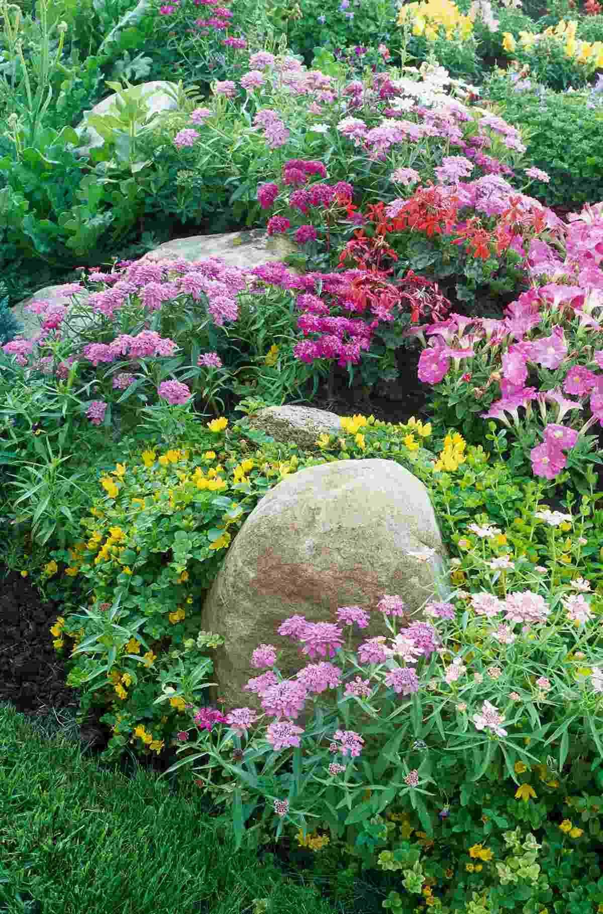 Cottage Garten Pflanzplan