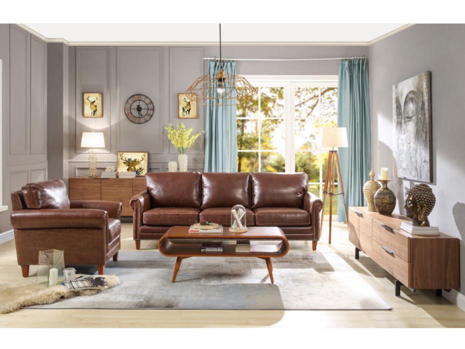 Couch Braun Vintage