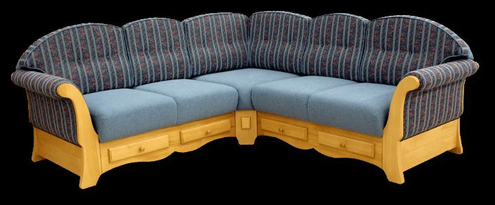 Couch Landhausstil Leder