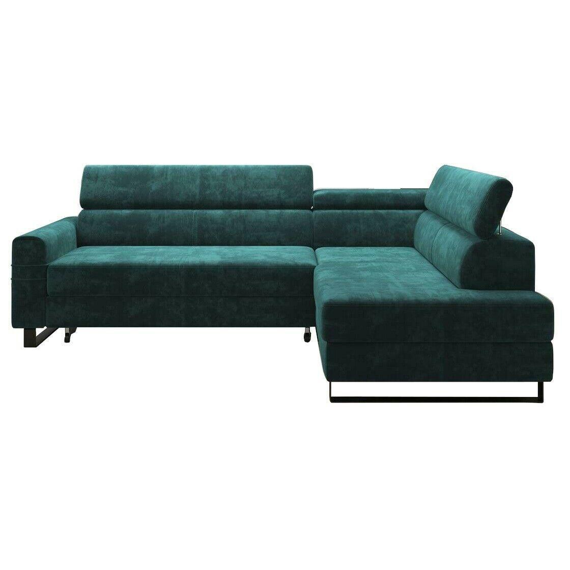 Couch Mit Schlaffunktion Und Ottomane