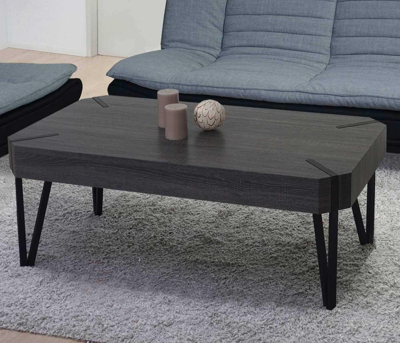 Couchtisch Dunkles Holz