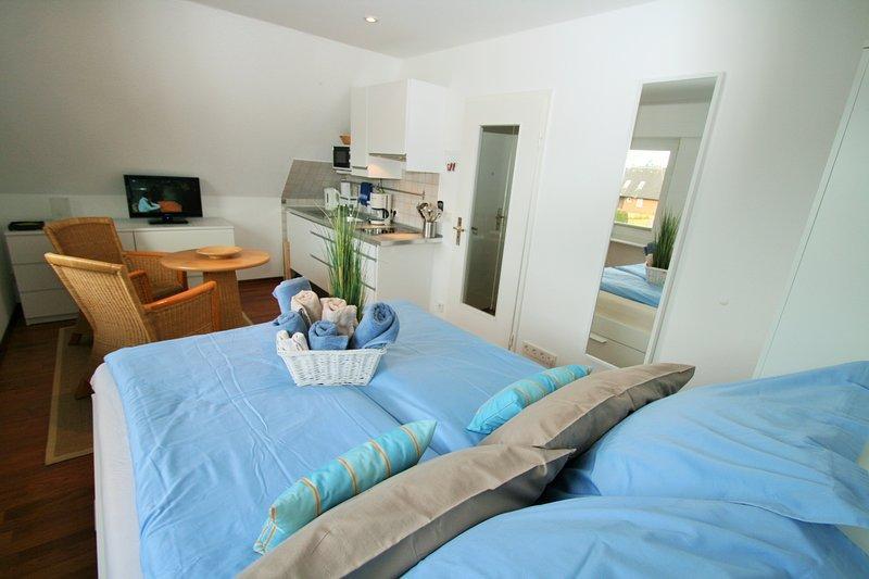 Dachgeschoss Schlafzimmer Klein