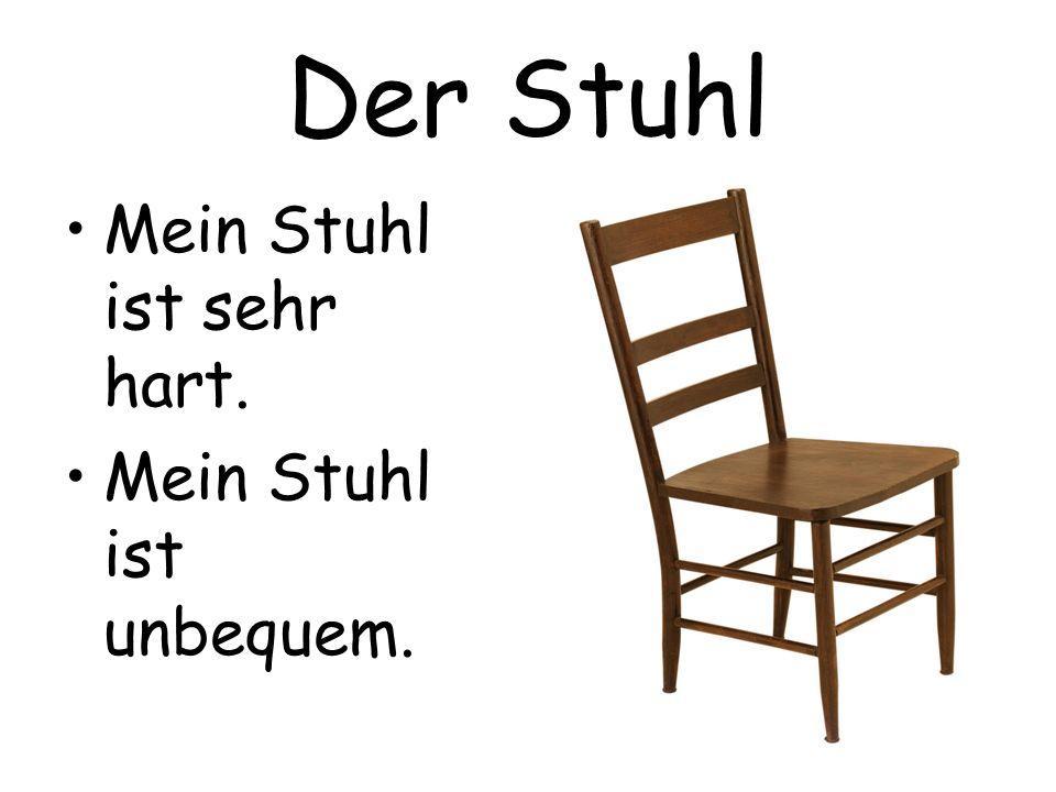Das Ist Mein Stuhl Ja