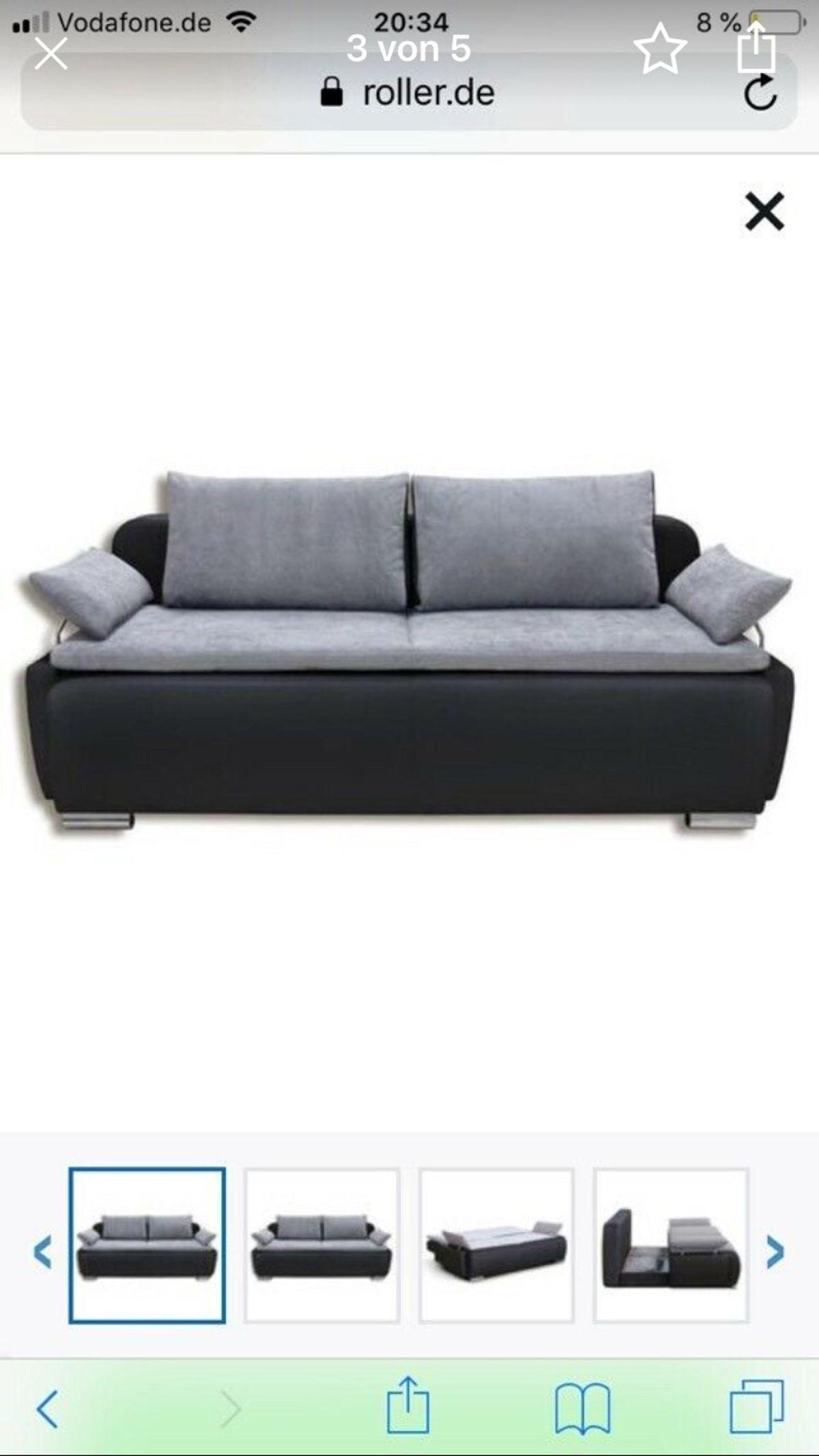 Dauerschläfer Sofa Roller