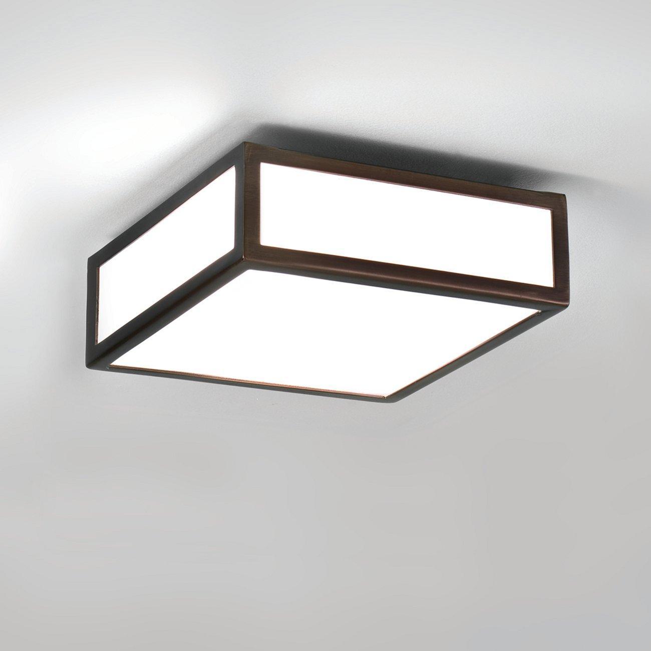 Deckenlampe Bad Schwarz