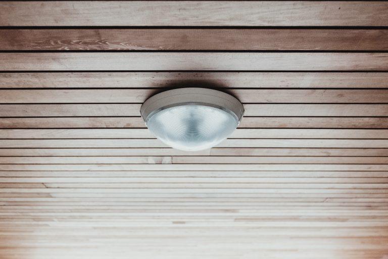 Deckenlampe Badezimmer Holz